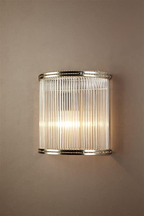 verre 1 light wall l half round glass elje13652
