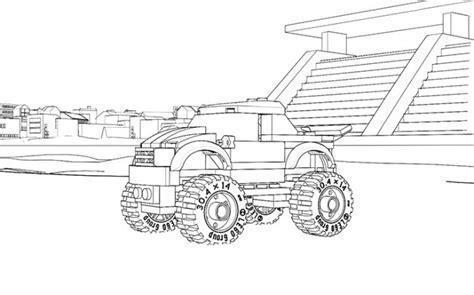 coloriage lego vehicule dessin gratuit  imprimer