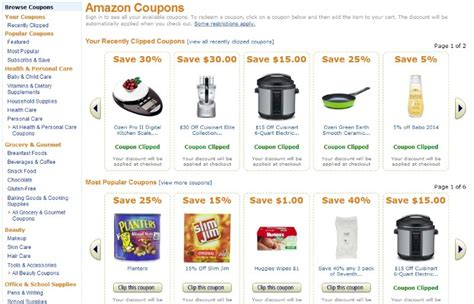 coupons amazon section check ghacks before deal taken