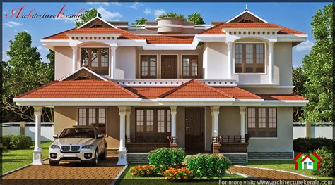 traditional kerala house elevation architecture kerala