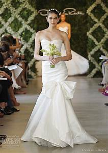 oscar de la renta bridal spring 2013 wedding dresses With oscar de la renta mermaid wedding dress