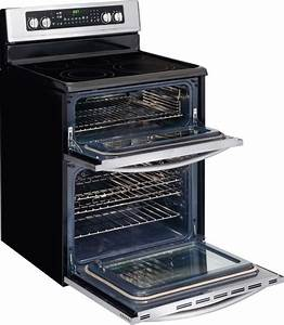 Frigidaire Fgef304dkf 30 U0026quot  Freestanding Electric Double Oven Range With 5 Radiant Elements