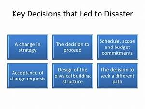 Project Management Failure Case Study