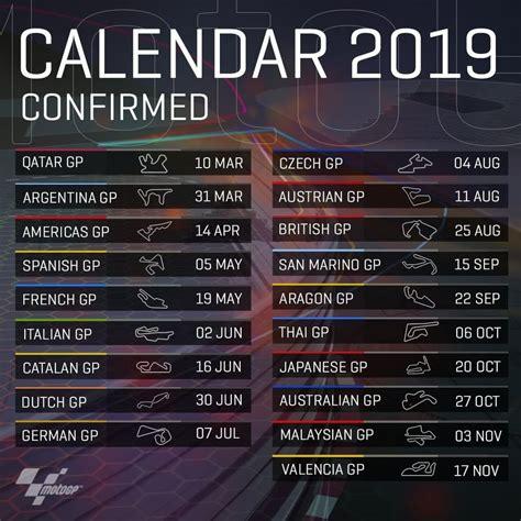 motogp  grand prix race schedule pride jets