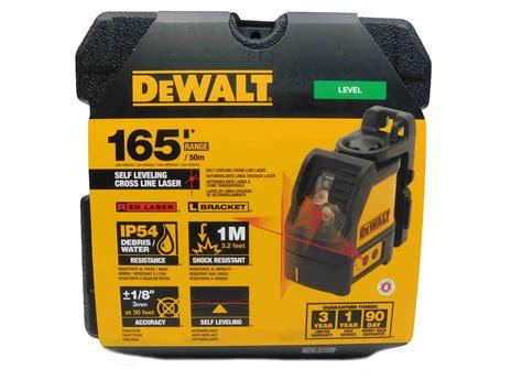 Dewalt Dw088k Cross Line Laser Level Self Leveling