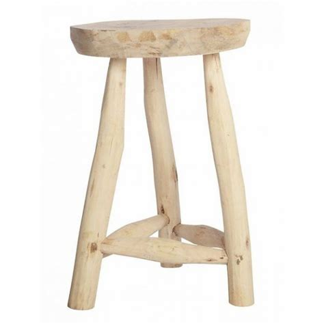 Tabouret En Bois Brut by Tabouret En Bois Brut House Doctor Nature