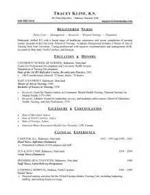 resume objective statement for nurse practitioner nursing resume exle sle nurse and health care resumes