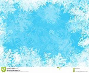 WHITE FROST ON THE WINDOW Stock Images - Image: 27263394