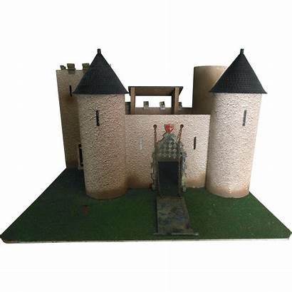 Castle Doll Unusual Turrets Toy Mote Lead