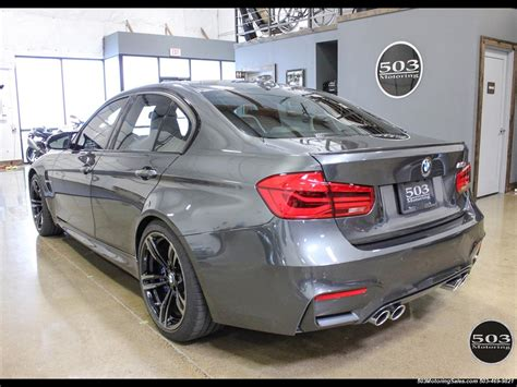 2016 Bmw M3 Loaded Spec In Stunning Mineral Gray W/ 3k Miles