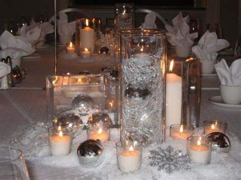 winter themed wedding centerpieces le fabuleux events presents one fab event winter wedding decor ideas