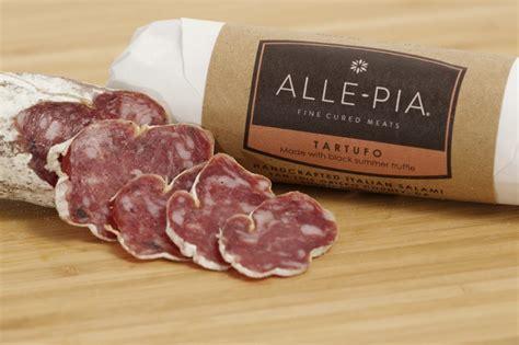 italian salami tartufo handcrafted italian salami alle pia fine cured meats