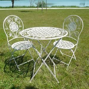 Salon De Jardin En Fer : salon de jardin en fer forg meubles fer forg ~ Teatrodelosmanantiales.com Idées de Décoration