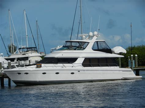 Carver Boats by 2002 Carver 570 Voyager Pilothouse Power Boat For Sale
