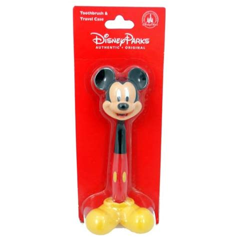 your wdw store disney bathroom accessories mickey mouse toothbrush and cover