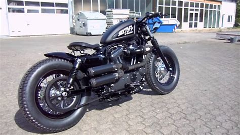 Genscher Bobber Umbau 2014´er Harley Davidson 48