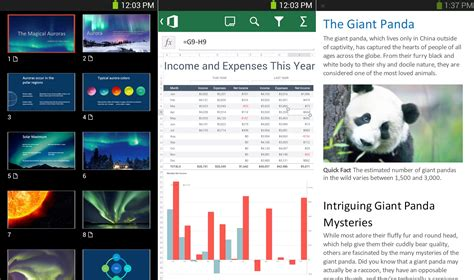 office app for android 微软发布 office mobile for android 应用 it瘾
