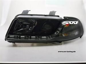 A4 B5 Scheinwerfer : sw drl scheinwerfer audi a4 b5 98 01 led tagfahrlicht ~ Kayakingforconservation.com Haus und Dekorationen