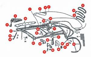 1968-1972 - Convertible Top Parts