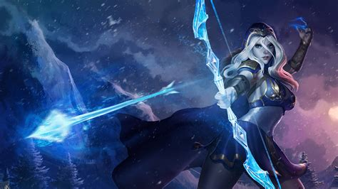 Ashe League Of Legends 4k Wallpapers