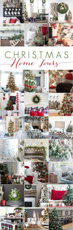 ideas  cottage christmas  pinterest