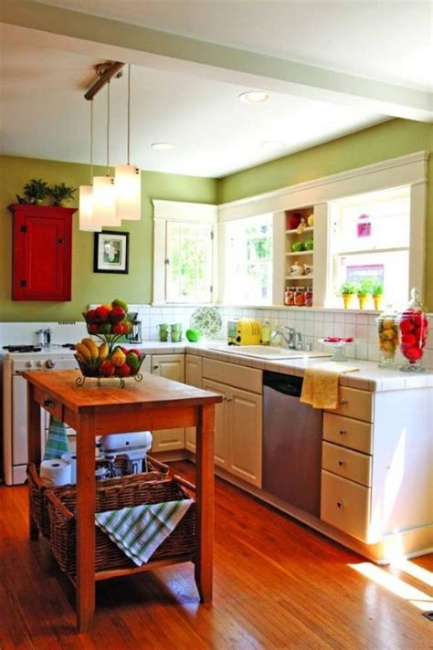Small Kitchen Colors Photos