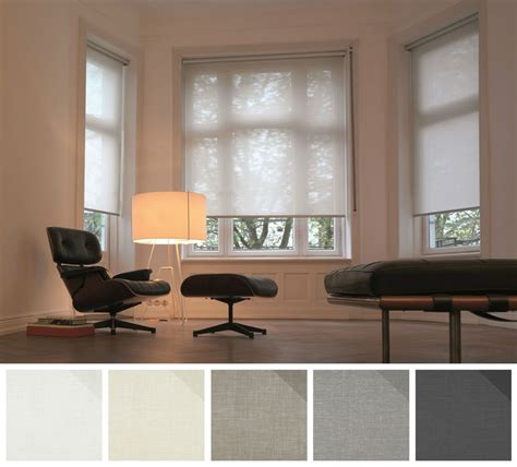 blue  white striped blinds curtain ideas