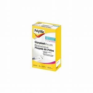 Plaque De Platre : reboucheur plaque de platre polyfilla ~ Melissatoandfro.com Idées de Décoration