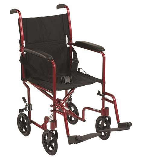 deluxe lightweight transport wheelchair ideal supply