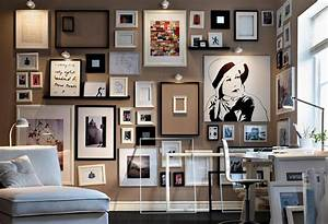Frames wall art decor for home office ideas combine white