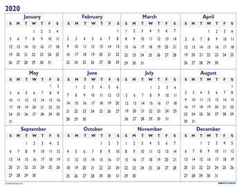 academic calendar printable year   glance