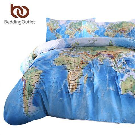 31685 world map bedding kaufen gro 223 handel karte bettbezug aus china karte