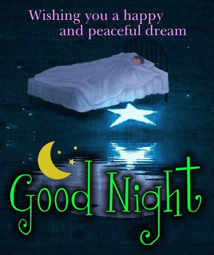 happy  peaceful dream  good night ecards