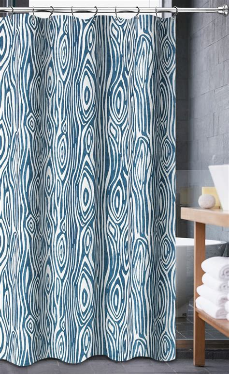 luxa hotel collection fabric shower curtain willow aqua