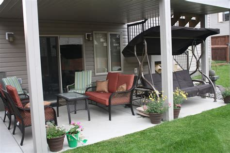 On The Patio by Create A Comfortable And Relaxing Place For Your Family By