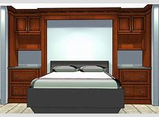 Who Knew SemiCustom Cabinets Could Be Used to Build a Bed