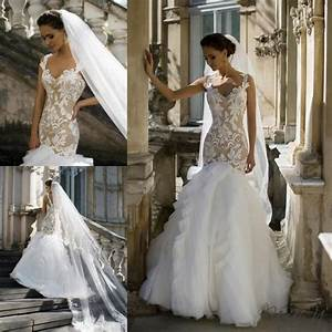 new designer milla nova wedding dresses 2016 tulle sexy With custom made wedding dresses online