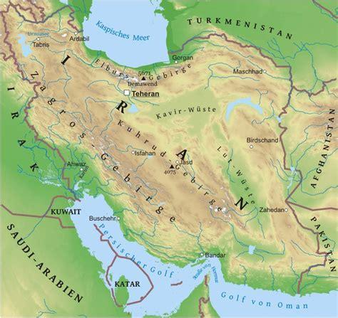 karte von iran freeworldmapsnet