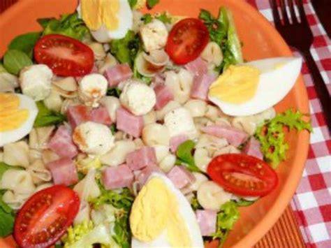 salade de pates au boursin recettes de boursin et salades