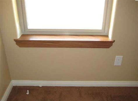 Wooden Window Sill Interior by Interior Window Sill Styles Image 3 Basement