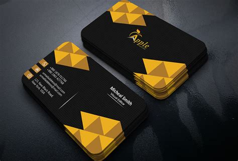 created professional unique modern  sided business card