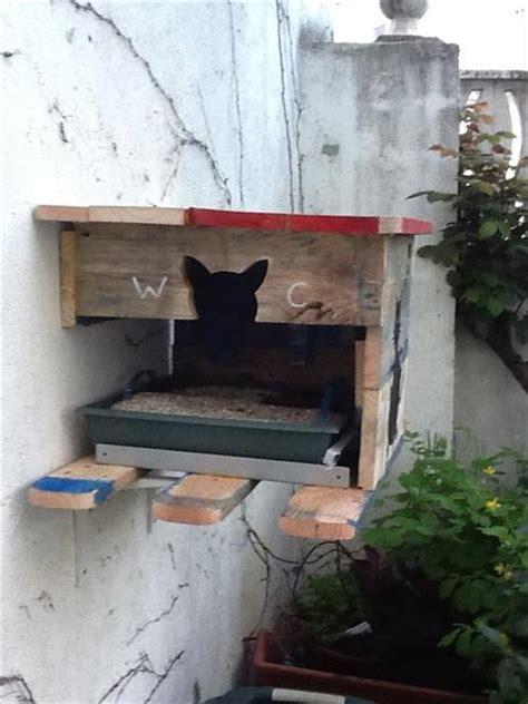 Pallet Outdoor Cat House  Pallets Designs