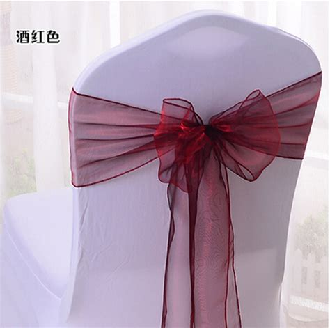 get cheap burgundy chair sashes aliexpress