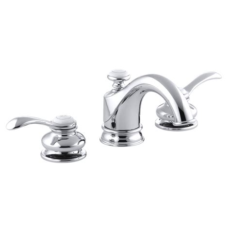 kohler bathroom sink faucets widespread