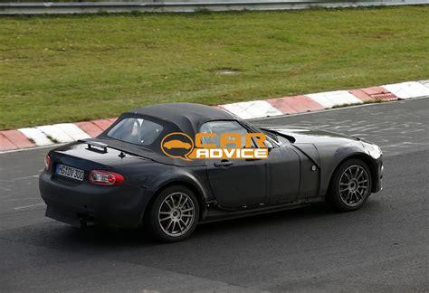 2015 Mazda Mx-5 And Alfa Romeo Spider Spied