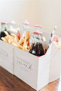 Late night reception snacks to keep the party rocking i for Gifts for wedding guests