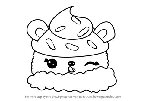 Learn How To Draw Choco Nilla From Num Noms (num Noms