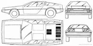 delorean blueprint - Google Search | Cakes | Dmc delorean ...