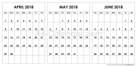 calendar april  june qualads