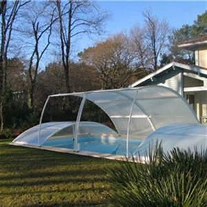Piscine Hors Sol 6x4 : abri piscine amovible sur margelles 8x4 m oogarden france ~ Melissatoandfro.com Idées de Décoration